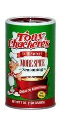 Tony Chacheres More Spice 7 Oz -Pack of 6 by Tony Chachere's