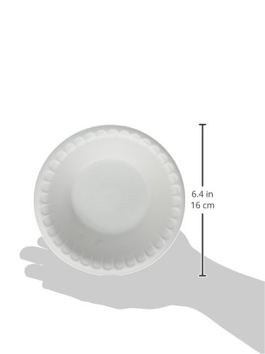 Hefty Everyday Foam Bowls (White, Soak Proof, 12 Ounce, 50 Count, Pack of 12) by Hefty (Image #4)