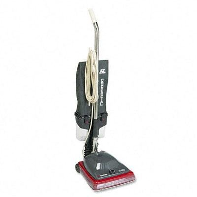 - Electrolux Sanitaire - Sanitaire Commercial Lightweight Bagless Upright Vacuum 14Lb Gray/Red