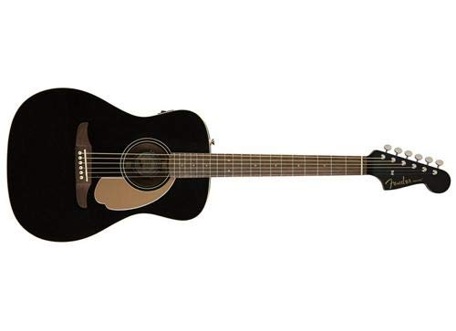 Fender Malibu Player – California Series Acoustic Guitar – Jetty Black