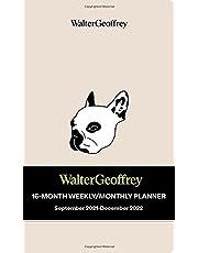 Walter Geoffrey 16-Month 2021-2022 Monthly/Weekly Planner Calendar