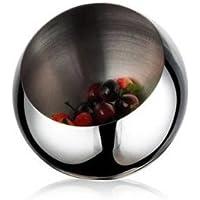SU@DA Acero inoxidable Bowl/oblicua/Frutero frutas tazón compota/continental/creativo/moda