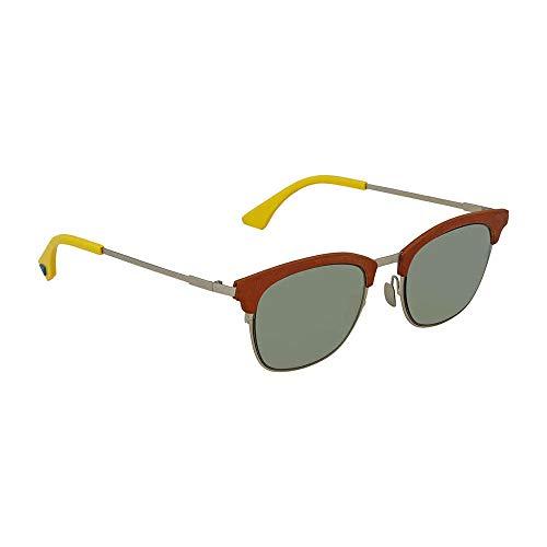 Sunglasses Fendi 228 /S 0VGV Silver Green / QT green lens (Fendi Sunglasses Retro)