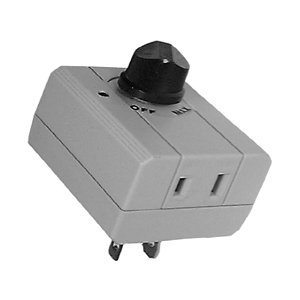 AC Plug-In Dimmer Switch - SPST / On - Off : 30-10194 by Philmore LKG