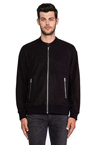 BLK DNM Men's Zip Up Sweatshirt