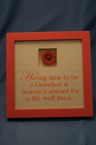 GRANDMAS HOUSE Memory Album Page Whitewash Veneer Shadow Box Frame Sold Separately
