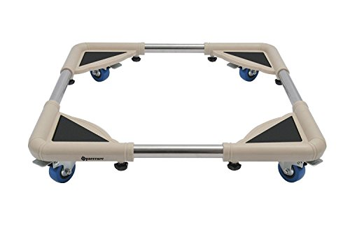 (SPACECARE 4 Rubber Locking Swivel Wheels Telescopic Furniture Dolly Roller with Size Adjustable-STFD001)
