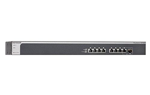 NETGEAR 8-Port Smart Managed Plus Switch, 10G Ethernet, ProSAFE Lifetime Protection (XS708E)
