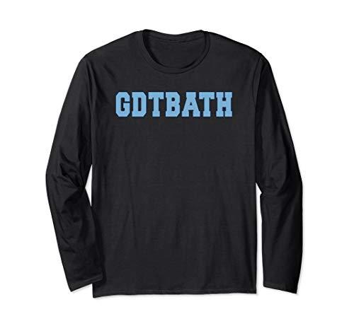 - GDTBATH Light Blue State of North Carolina Fan Shirt Long Sleeve T-Shirt