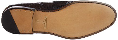 Lottusse L6974, Mocassini (Loafer) Uomo Marrone (Cang Dc Perf Moka)