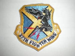 USAF 37TH Fighter Wing Patch F-117 -Color by HighQ Store