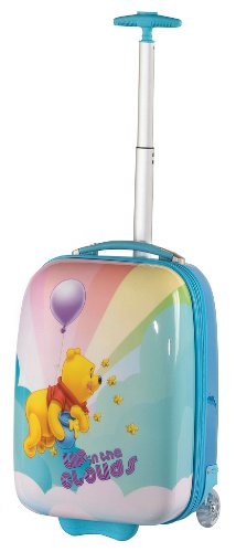 "Toddlers 18"" Hardsided Carry On Theme: Winnie the Pooh Up in The Clouds"
