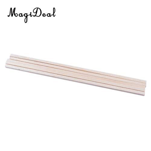 Best Quality - Model Building Kits - 10Pcs 55250Mm Craft Bars Square Rod Balsa Wood Bar Hobby Model DIY Tools for Carving Toys - by Wood Shelf - 1 Pcs - Balsa Wood Table - Balsa Wood Hearts