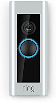 Certified Refurbished Ring Video Doorbell Pro, with HD Video, Motion Activated Alerts, Easy Installation (exis