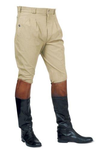 Auckland d'équitation Pantalon plissé Beige Beige Mark homme pour Devant Todd wnxqgv5