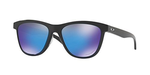 Oakley Moonlighter Sunglasses Polished Black / Prizm Sapphire & Cleaning - Oakley Moonlighter