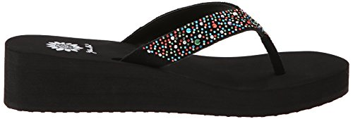 Sandal Flip Box Multi Wedge Yellow Flop Africa Women's Ytq7q
