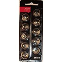 Oticon MiniFit Double Vent Bass Domes: (Large 10mm)