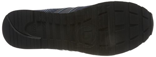 Runn Parkour Blue Tech Bleu BOSS Sneakers Homme Dark Basses RpT6nq5w