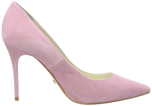 Buffalo London 11877-305 Suede, Zapatos de Tacón para Mujer Rosa (Rose 52)