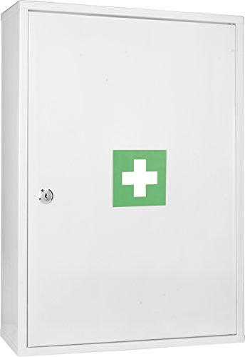 Winbest Large Wall Mount Steel Medical Medicine Cabinet by Winbest