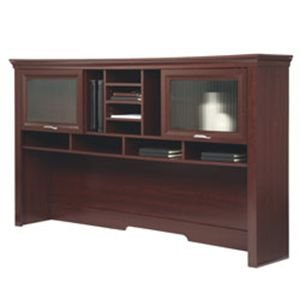 Realspace Magellan Performance Collection Hutch, Cherry Collection Desk Hutch