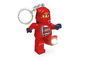 LEGO - Llavero con figura de Ninjago y linterna