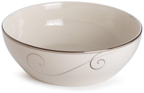 (Noritake Platinum Wave Round Vegetable Bowl)