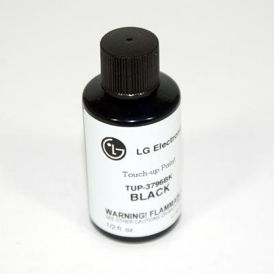 LG TUP-3796BK Black Touchup Paint (Lg Black Stainless Steel Touch Up Paint)