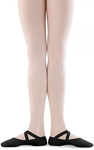 Bloch Mens Dance Synchrony Split Sole Stretch Canvas Ballet Slipper//Shoe 9.5 B US Black