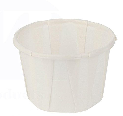 Paper Souffle/Medicine/Portion Cup by MT Products - (Pack of 450) (1/2 oz, 450)