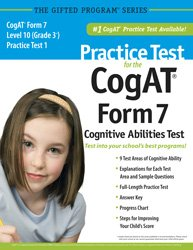Practice Test for the CogAT® Form 7 Level 10 (Grade 3*) Practice Test 1