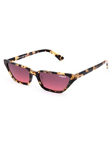 de 53 Mujer VOUGE Sol Yellow Gafas para Pinkgradientviolet 260520 Brown 0VO5235S Amarillo Tortoise qZYYn7t
