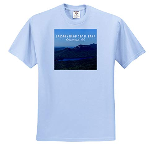 Stamp City - Landscape - Photograph of Caesars Head State Park in Cleveland, South Carolina. - T-Shirts - Toddler Light-Blue-T-Shirt (2T) (ts_289753_63)