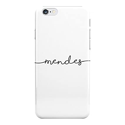 new product 26706 c6a82 Amazon.com: Fun Cases White Mendes Handwriting - Shawn Mendes Phone ...