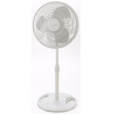 "Price comparison product image Lasko 16"" Oscillating Stand Fan 3-Speed (white) 18.500000in. x 23.000000in. x 5.000000in."