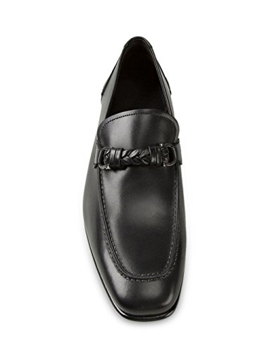 Salvatore-Ferragamo-Mens-Nello-Calfskin-Leather-Loafer-Black-Nero