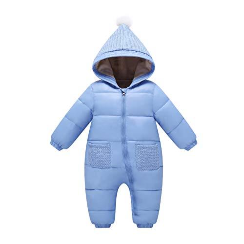 Baby sneeuwpak speelpak winter overall met capuchon rompers meisjes jongens warm kledingset