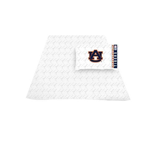 - NCAA Auburn Tigers Micro Fiber Sheet Set (Queen)
