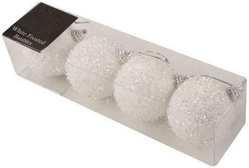 7cm Chucher/ías de brillo blanco Perfecto para fiestas tem/áticas congeladas