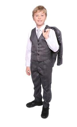 Vito Traje gris para niños 1-13 años: Amazon.es: Ropa y accesorios