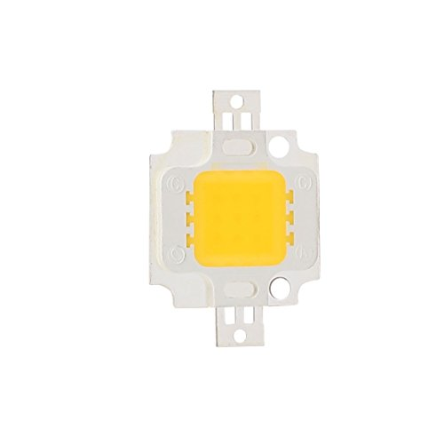 uxcell DC 27-33V 10W Warm White High Power SMD Led Chip Flood Light Lamp Bead 29mmx20mm