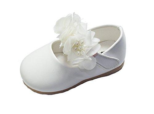 White Leatherette Pram - 2