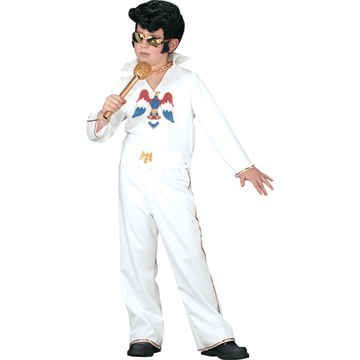Authentic Elvis Presley Costume - Authentic Elvis Presley Costume - Child Small by Morris