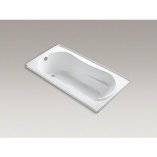 Kohler K-1159-L-0 Proflex 7236 6' Soaker Bathtub with Flange and Left-hand Drain