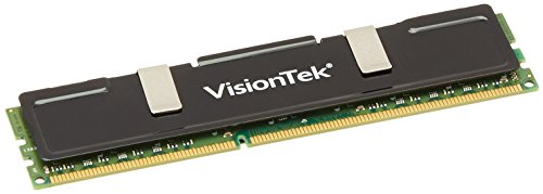 VisionTek 4GB DDR3 1333 MHz  (PC3-10600) CL9 DIMM Low Profile Heat Spreader, Desktop Memory - 900385