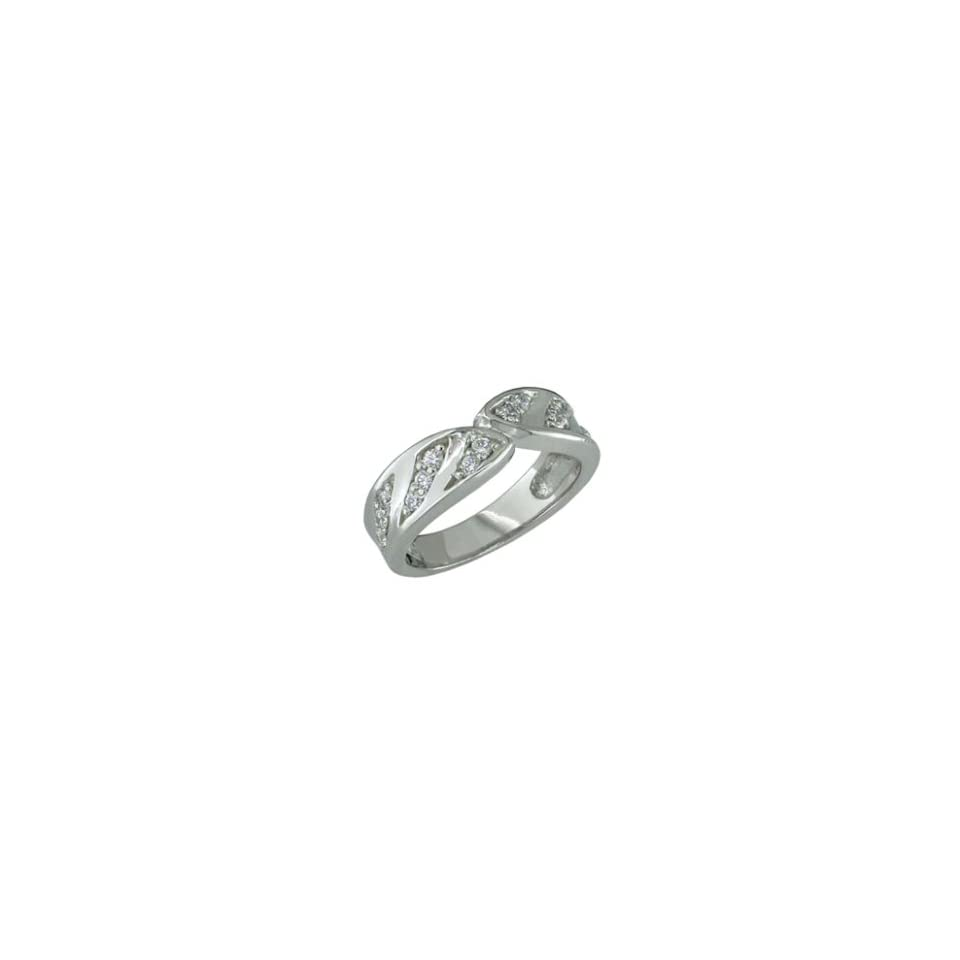 Fanise   size 9.50 14K White Gold Diamond Ring Jewelry