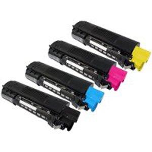 (Clearprint 43034801, 43034802, 43034803, 43034804 Compatible Color Toner Set for Okidata C3100N, C3200N)