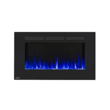 Napoleon 42 Allure Wall Mount Electric Fireplace NEFL42FH