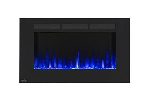 Napoleon 42-Inch Allure Wall Mount Electric Fireplace - ()